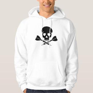 Darts skull hoodie