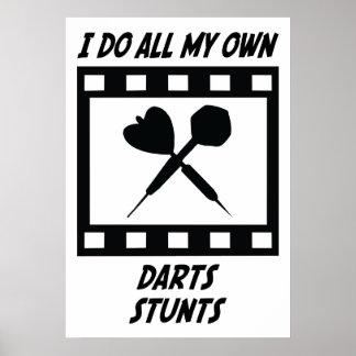 Darts Stunts Poster