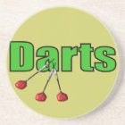 Darts with 3 Darts Coaster