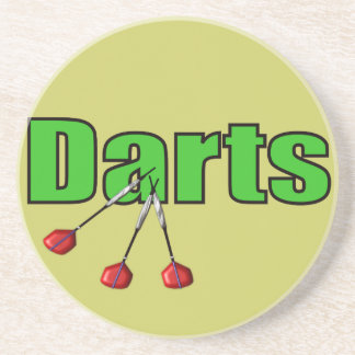Darts with 3 Darts Coaster