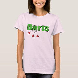 Darts with 3 Darts T-Shirt