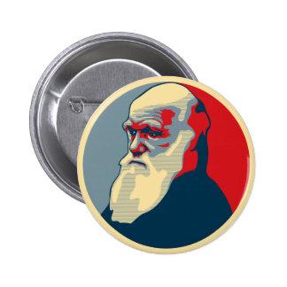 Darwin, aucun texte macaron rond 5 cm