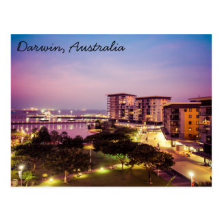 Darwin, Australia Postcard