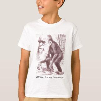 Darwin est mon homeboy t-shirt