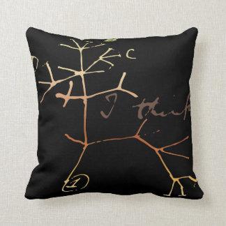 Darwin, I think tree of life Throw Pillow