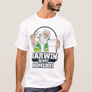 Darwin Is My Homeboy atheist shirt