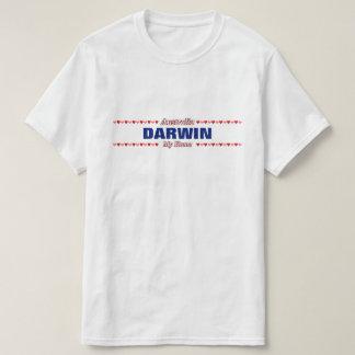 DARWIN - My Home - Australia; Red & Pink Hearts T-Shirt