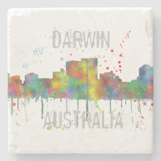 DARWIN, NT SKYLINE - Stone Drinks Coaster