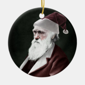 Darwin Santa Claus Ceramic Ornament
