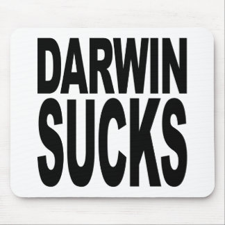 Darwin Sucks Mouse Pad