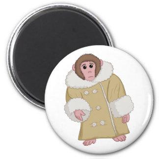 Darwin the Ikea Monkey Refrigerator Magnet