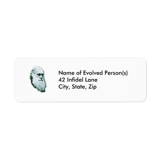 Darwin's Head Address Labels