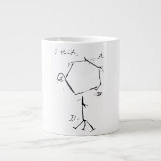 Darwin's phage large coffee mug
