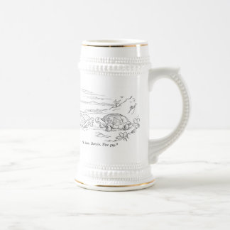 Darwin's turtles astrobiology/evolution mug