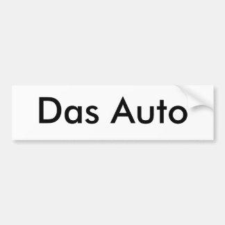Das Auto Bumper Stickers
