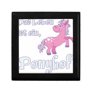 das leben ist ein ponyhof gift box