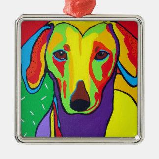 Daschund Doggie Ornament