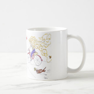 Daschund lover's Sister Golden Hair Coffee Mug