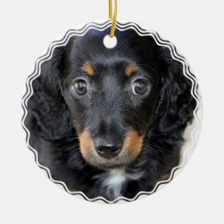 Daschund Puppy Dog Ornament