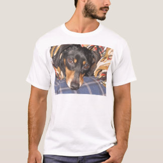Daschund Weener Dog face T-Shirt