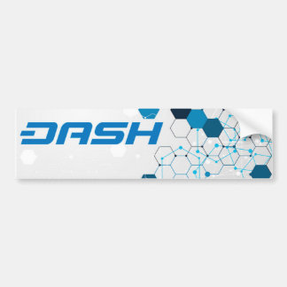 Dash Bumper Sticker B3