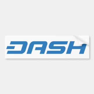 Dash Bumper Sticker B4
