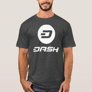 DASH - Men's Basic T-Shirt - CHARCOAL - Crypto