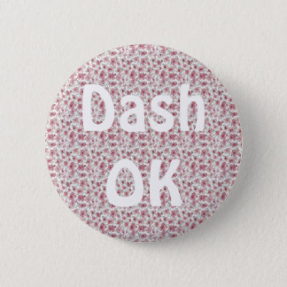 Dash OK 2 Inch Round Button