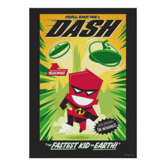 Dash Pop Art Poster