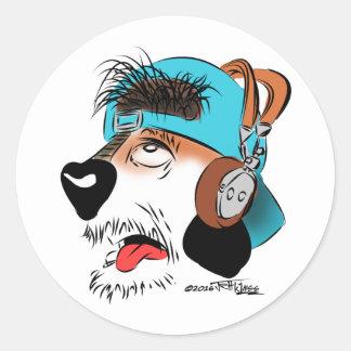 Dash! The Dog-Faced Ham Sticker