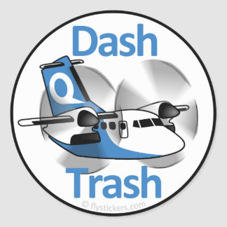 Dash Trash (Factory Livery) Classic Round Sticker