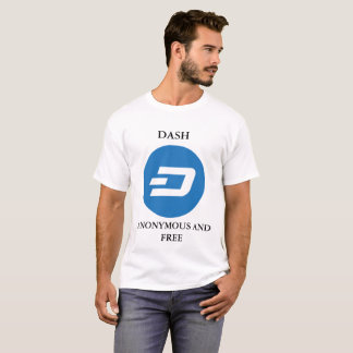 DASH WHITE MEN'S T-SHIRT