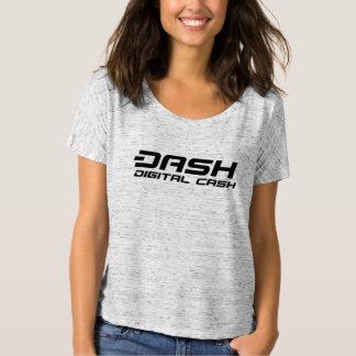 Dash Womens T-Shirt Digital Cash