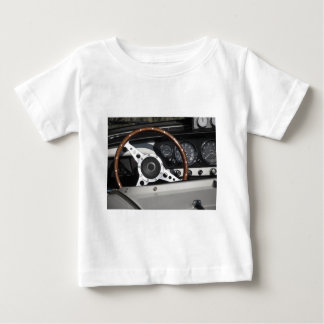Dashboard of an old british classic car baby T-Shirt