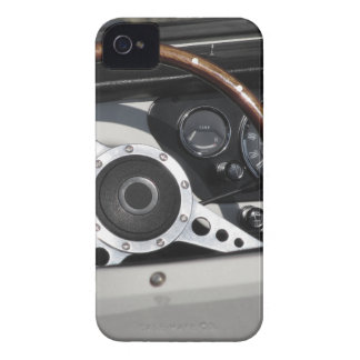 Dashboard of an old british classic car iPhone 4 Case-Mate case