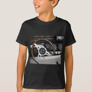 Dashboard of an old british classic car T-Shirt