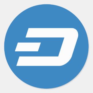 Dashcoin Logo Round Sticker