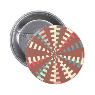 Dashed vortex 2 inch round button