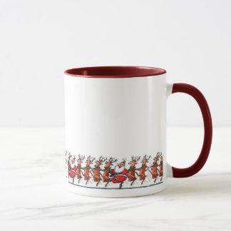 Dasher, Dancer, Prancer, Santa? Mug
