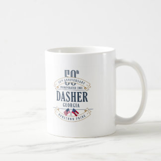 Dasher, Georgia 50th Anniversary Mug