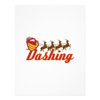 Dashing Letterhead
