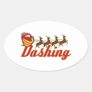 Dashing Stickers