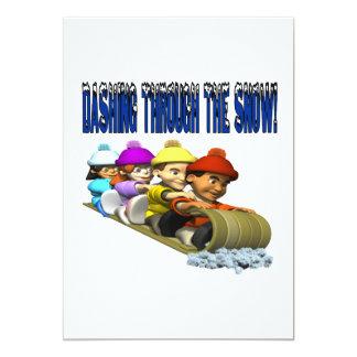 Dashing Through The Snow 2 Card
