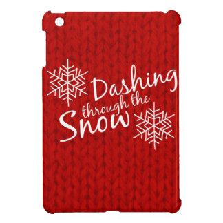 Dashing Through the Snow Case For The iPad Mini