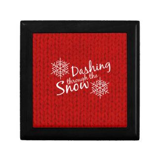 Dashing Through the Snow Gift Box