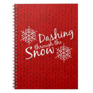 Dashing Through the Snow Notebook