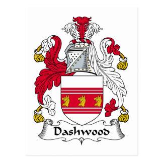 Dashwood Family Crest Post Card