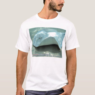 Dasyatis americana (Albino Southern Stingray) T-Shirt
