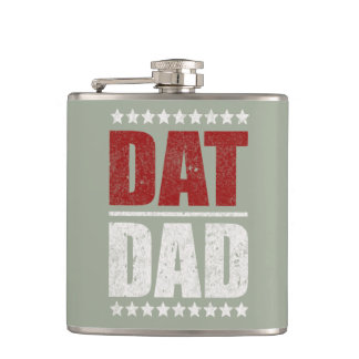 Dat Dad ID176 Hip Flask