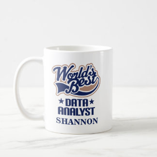 Data Analyst Personalized Mug Gift